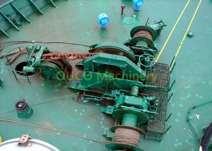 Customizable Marine Deck Winches Good Performance Reliable Operation 2