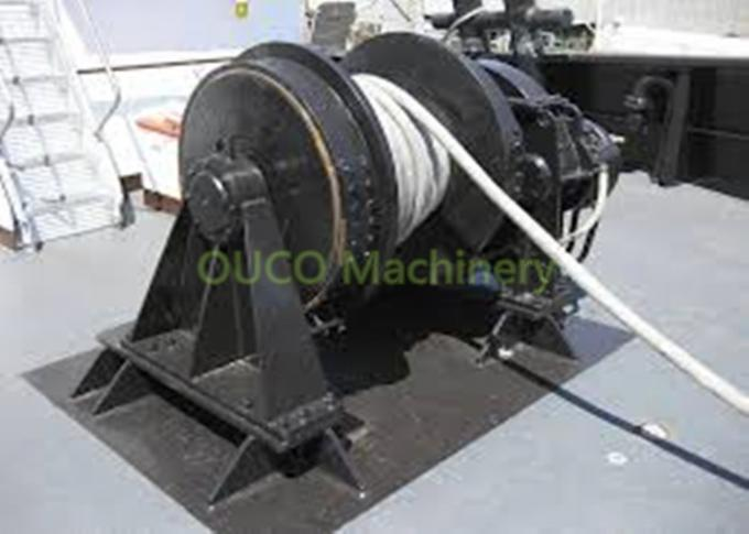 200 KN Marine Deck Winches Versatile , Heavy Duty Heavy