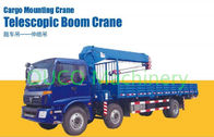 Stiff And Telescopic Boom / Knuckle Boom Truck Mounted Crane With Customized Color