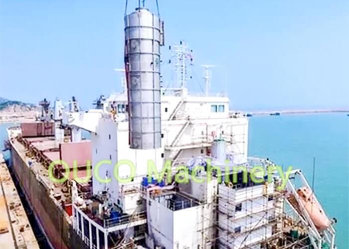 Marine Vessel ECO Desulfurization Unit Stainless Steel