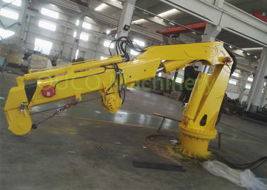 Hydraulic Industry Steel Marine Crane Full Folding Telescopic Jib Boom