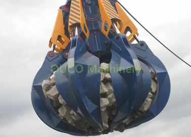 Rubbish Garbage Waste Solid Material Scrap Handling Grabs Reliable And Sturdy Design