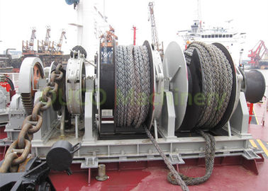 Anchor Rope Marine Drum Winch High Reliability For Marine Vessels Deck