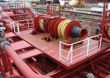 Customizable Marine Deck Winches Good Performance Reliable To Operation