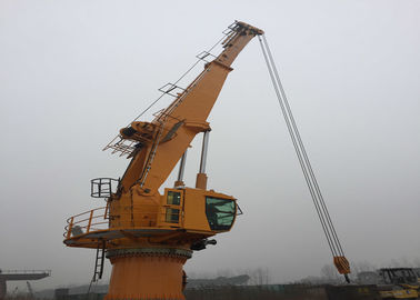 Offshore Cargo Ship Crane 10T Robust Design Excellent Positioning Performance