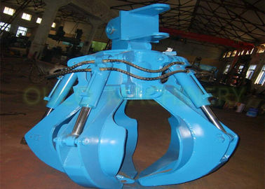 7.5T Orange Peel Grab Electric Hydraulic Type Steel Structure Smooth Operation