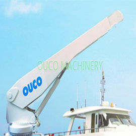 Custom Stiff Boom Marine Offshore Pedestal Crane For Lifting Cargoes