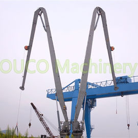 1T30M Marine Pedestal Crane With Knuckle Boom For Ship Transportation Solution