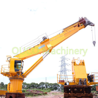 Offshore Crane 8t26m High Loading Efficiency with ABS Certificate
