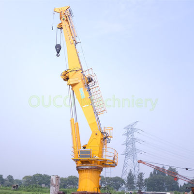 36.6m Offshore Crane with High Loading Efficiency with ABS Certificate