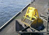 Hydraulic Coal Clamshell Grab Bucket 9 5 T Vessel Crane