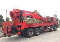 High Durability Truck Mounted Boom Crane Knuckle Boom Small